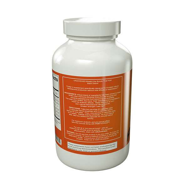 Unleashed high potent natural testosterone supplement for Fish oil testosterone