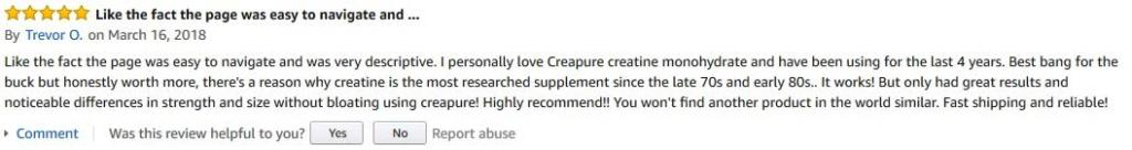 creapure review