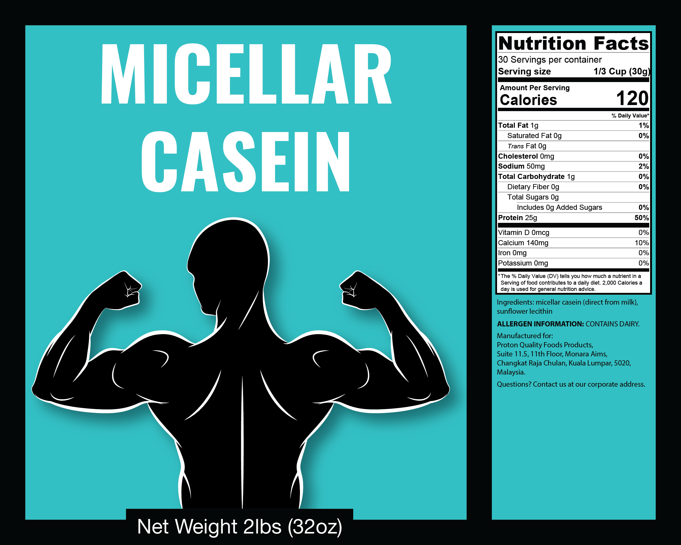 Loss bed casein before fat