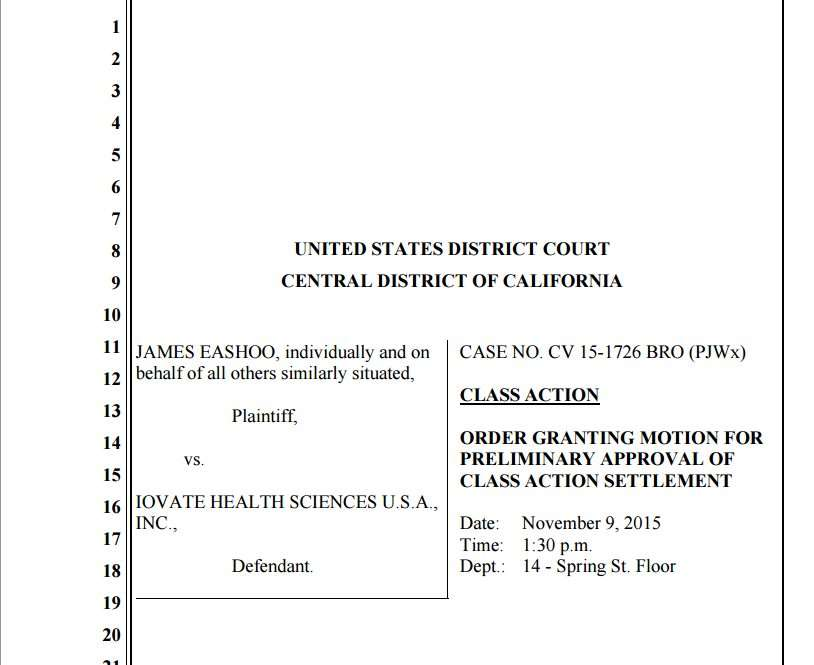 muscletech lawsuit