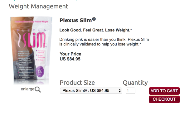 plexus slim weight loss