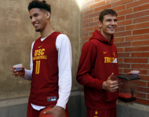 USC basketball team beet juice