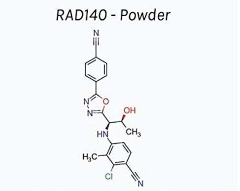 RAD 140 | 60 Capsules | 15mg | 1 month supply of SARM