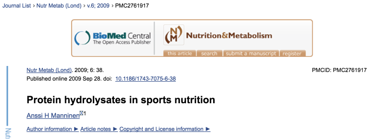 Protein hydrolysates in sports nutrition 2016-11-27 08-40-02