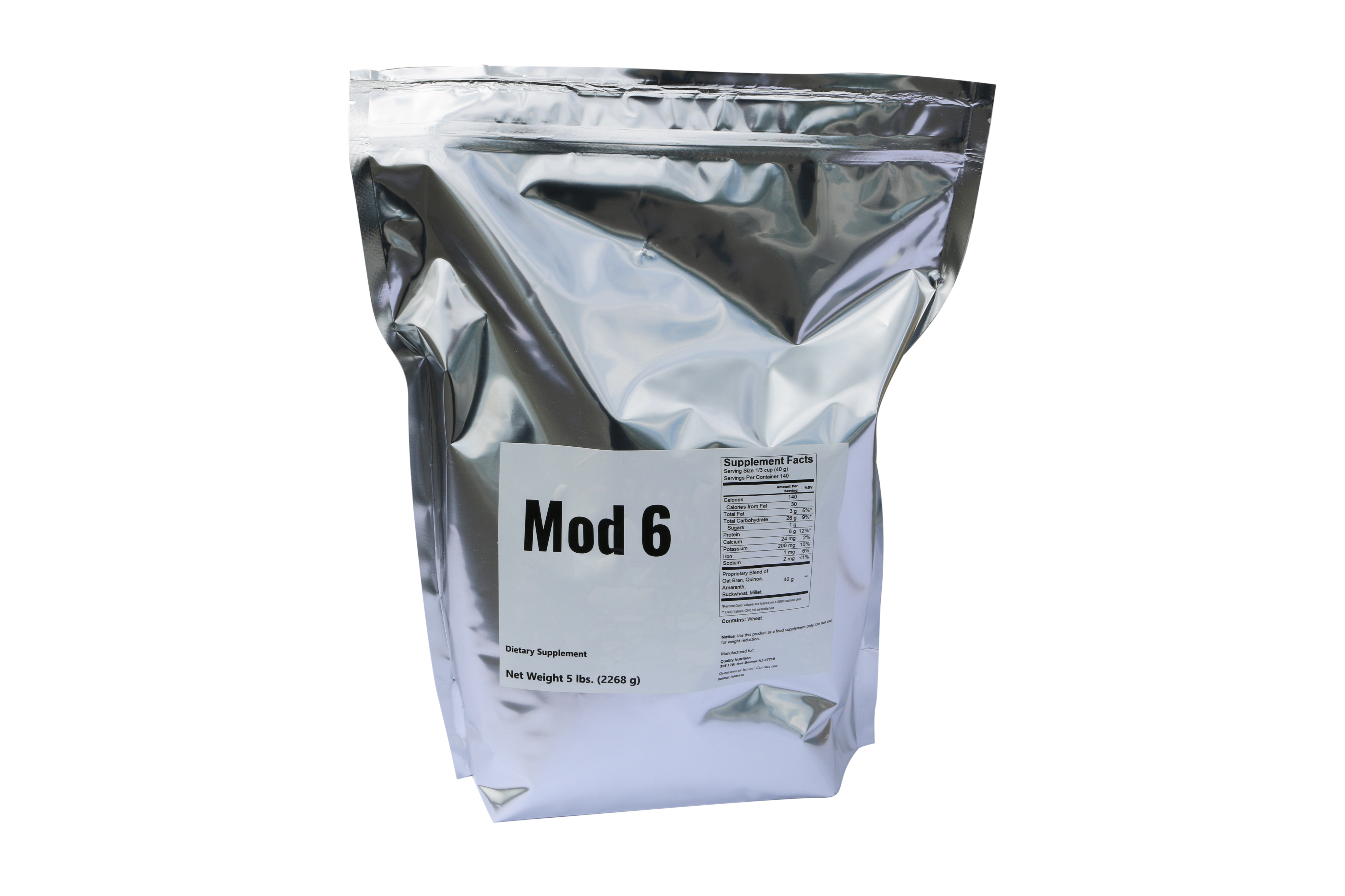 complex carbohydrate powder