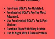 Best time to take bcaa supplement