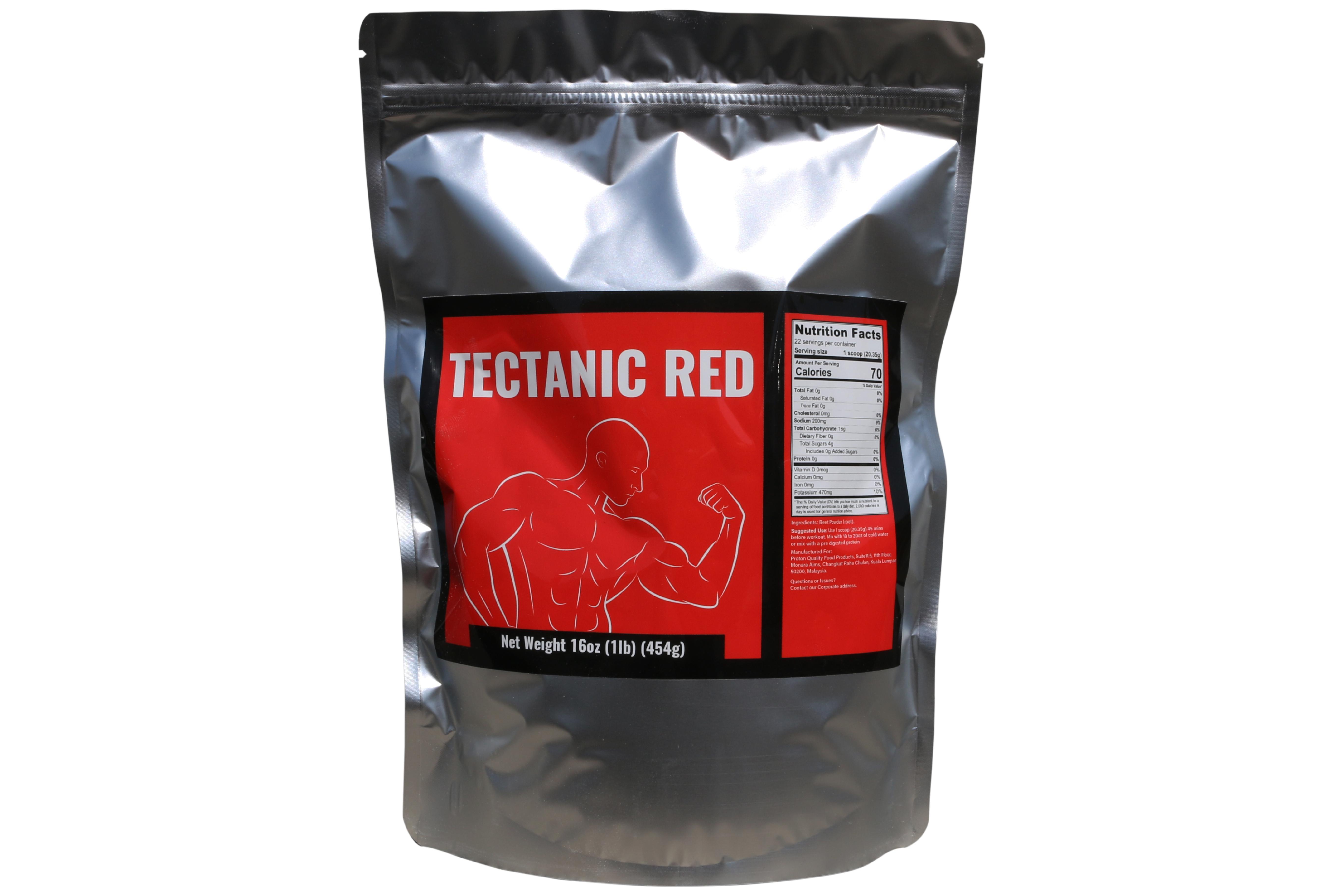 Tectanic Red -  Pre Workout Powder