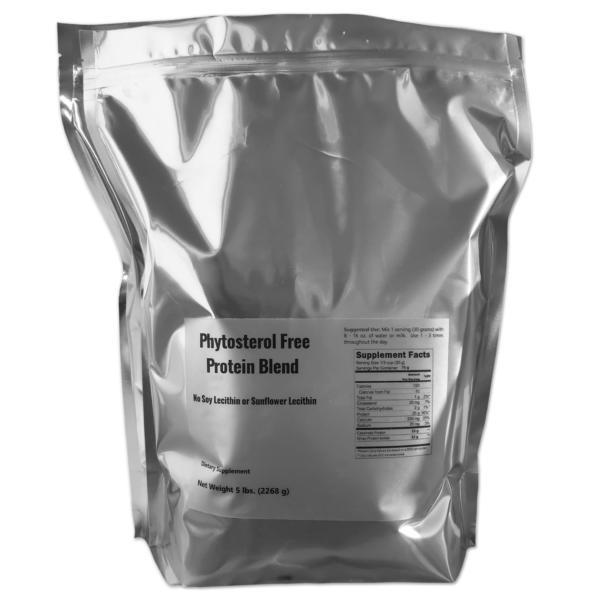 phytosterol free protein powder