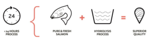 hydrolyzed salmon protein powder