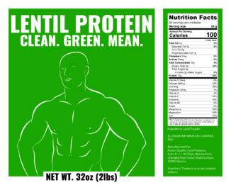 lentils complete protein powder