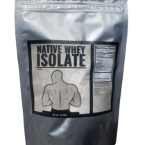 native whey protein isolate