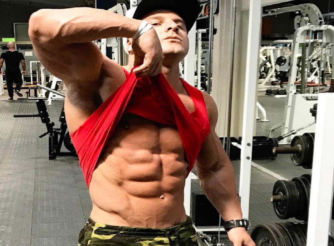 is josef rakich on steroids