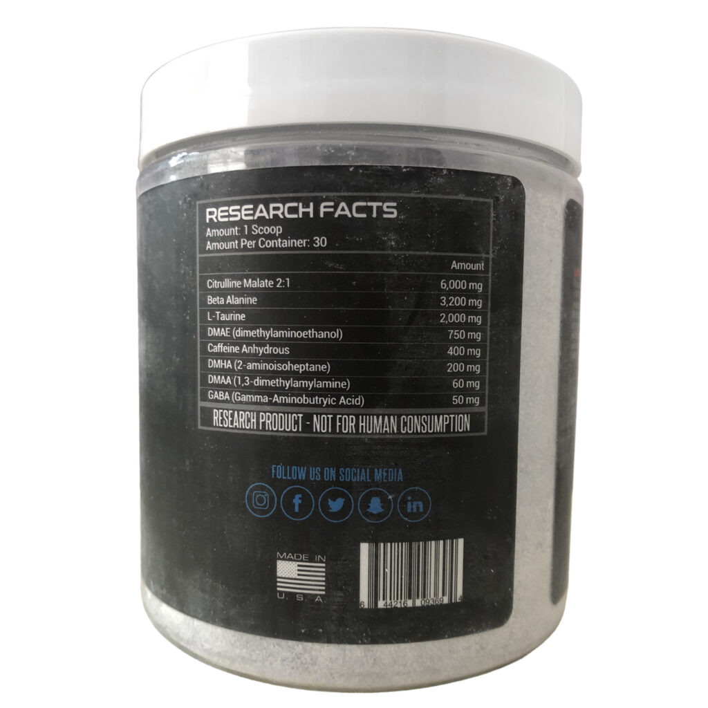 Should You Use Dark Energy Pre Workout Research Product